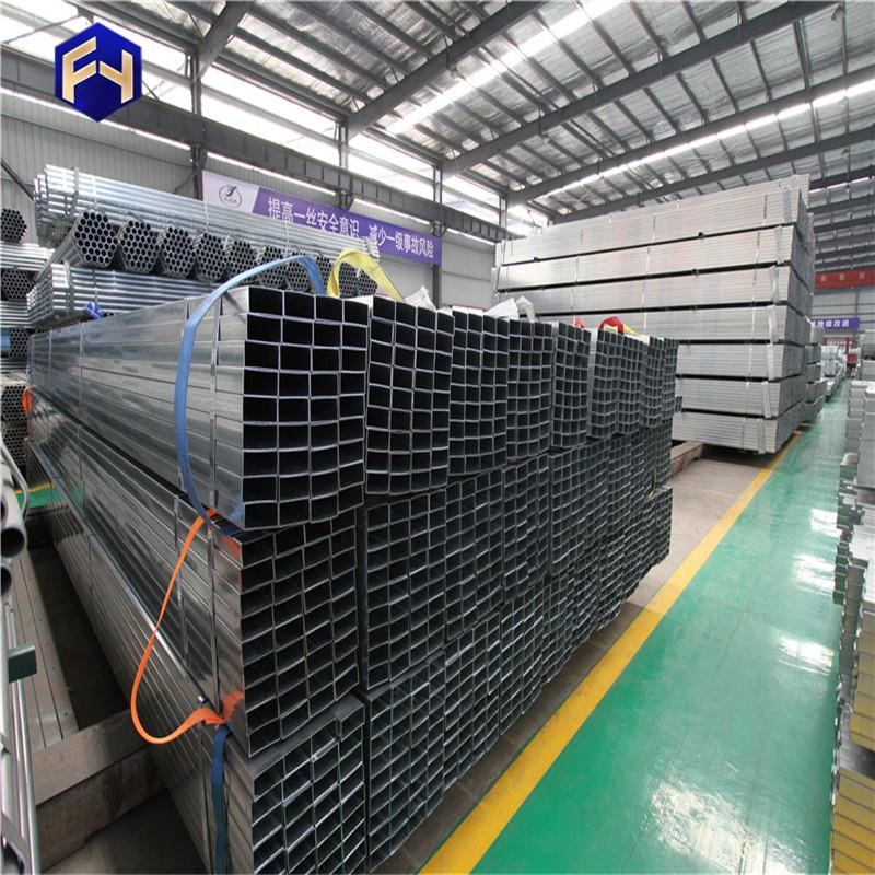 rectangular tubes ! gi pipe best price sch 40 pre galvanized square steel tube made in China