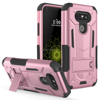 China Western Cell Phone Case Hybrid Hard Shell + Soft TPU Rugged Defender Phone Case For LG G5