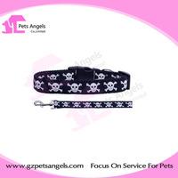 Eco-friendly halloween dog collar and leash wholesale