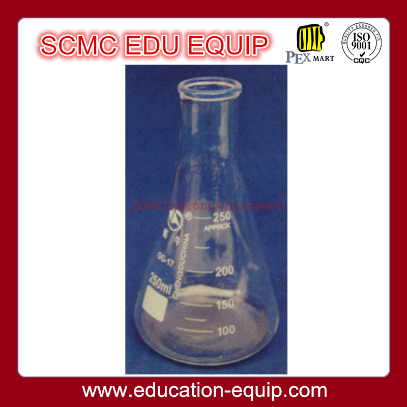 SE12012 Conical Flask narrow neck with graduations