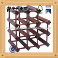 modular multichamber bottles holder wine rack solid wood