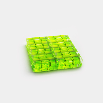 Aohong Good quality high precision 15x15x40mm square bubble level