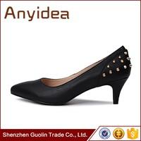 women shoes pump european fashion pointed toe ladies high-heeled