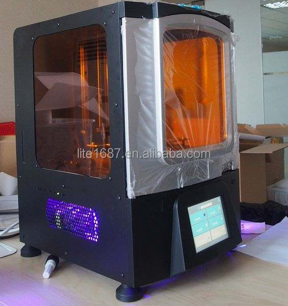 DLP 3d printer for jewelry and dental 3d wax printer with casting gold and silver 3d jewelry making