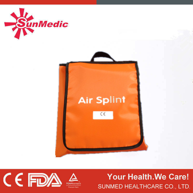 Medical first aid inflatable air splints