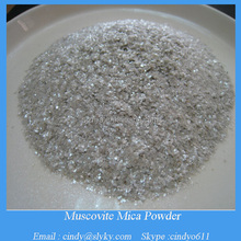 Building material muscovite mica powder