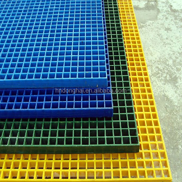 China Top Manufactory for fiberglass molding grating, frp grating