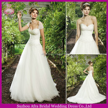 SD2212 sexy low back wedding dress detachable lace sleeves for wedding dress