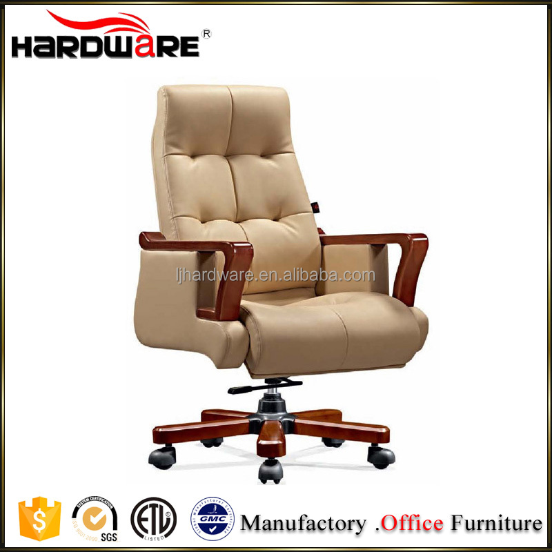 New genuine leather executive president office chair
