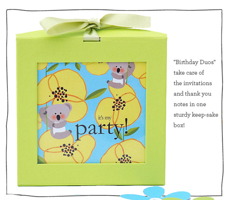 english words birthday invitations