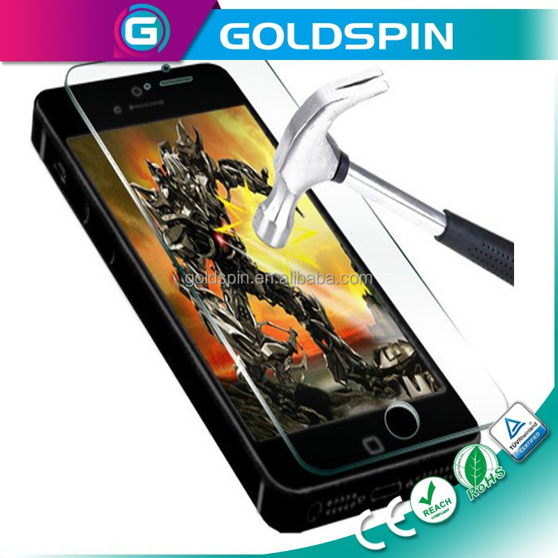 GOLDSPIN LCD Screen Protector For iPhone 5s Tempered Glass Screen Protector
