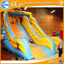 Giant inflatable pirate ship slide bouncy slide for kids