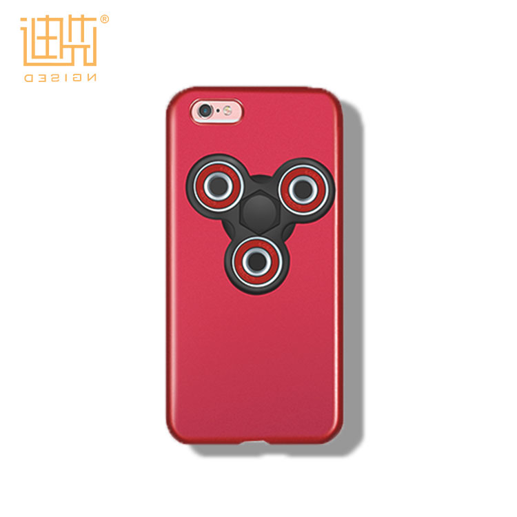 Warmly Welcome OEM/ODM New Products Dismountable Hand Finger Fidget Spinner with PC Material Phone Case