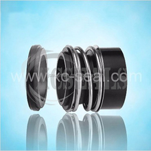 Single face MG13 rubber bellow mechanical seal is stretched by MG12 for paper pulp pump