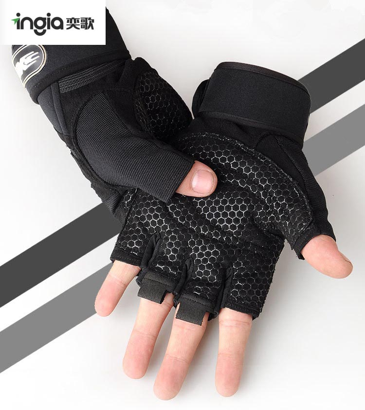Custom Adjustable Weight Training Gloves Cycling Gloves Fitness Gloves