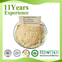 High Content Plant Placenta Extract Price, Free Sample Sheep Placenta Extract Powder