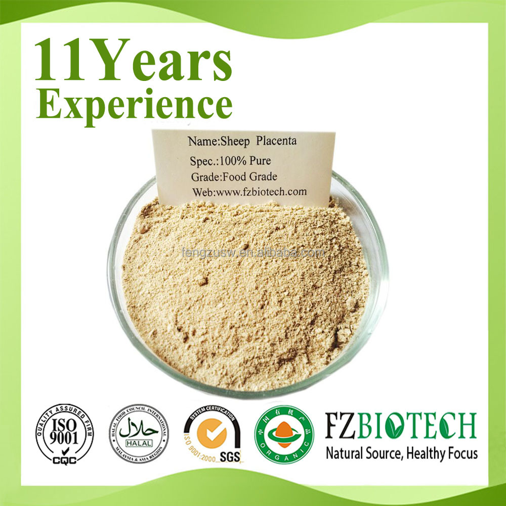 High content animal placenta extract, free sample sheep placenta extract powder