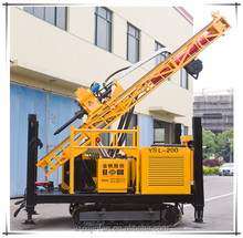 Hydraulic crawler mounted water well drilling machine, Model No. YSL-200L
