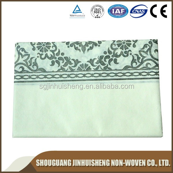 China factory price PP non-woven disposable table cloth