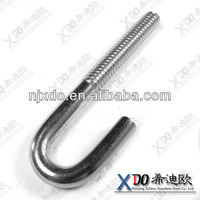 AL6XN NO8367 anchor bolt m20 stud bolts with hex nut m42 stud bolts