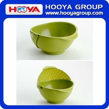 Wholesale Plastic Containers Vegetable Draining Strainer Basket