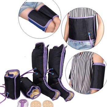 NEW Home Use Pressotherapy Recovery Boot Foot Health Care Air Pressure Leg Personal Air Massager