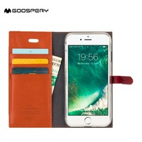 GC Original Goospery wallet case mobile phone cover for iphone 5c wallet case