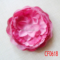 CF 0618 import china fabric artificial flowers, handmade artificial tissue fabric flowers