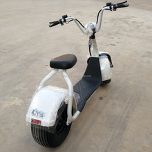 2017 Newest Design 1000W Motor 60V 12ah Battery citycoco 2000w CE Fat Tire Electric Motorcycle
