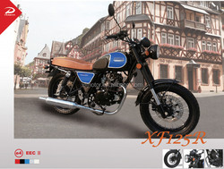 eec 125cc cafe racer/classic/racing motorcycle