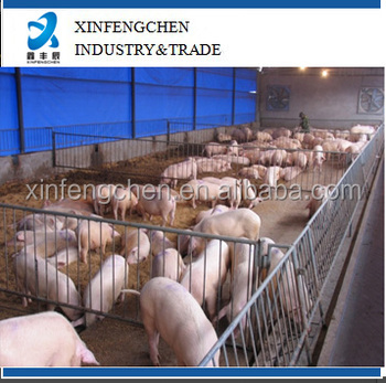 Pig farming equipment, pig fatten crate