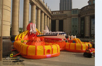 giant inflatable children playground