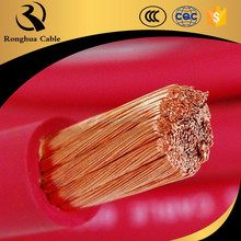 Super flexible high temperature battery cables silicone rubber cables for extreme high and low temperatures place