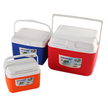 Three-piece Hot sale Cool Boxes portable plastic cooler boxes mini cooler box for camping