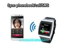 New products Crazy Selling android 3g wifi dual sim watch phone