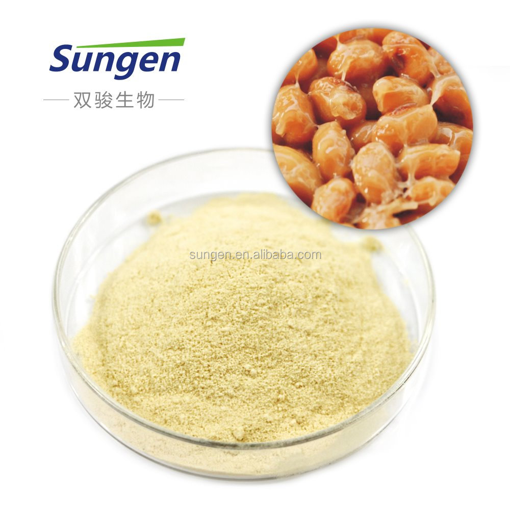 Bacillus subtilis natto soybean powder extract nattokinase
