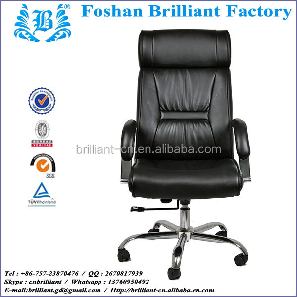 conference writing chair office chairs steelcase ergonomic boss chair BF-8918A-1