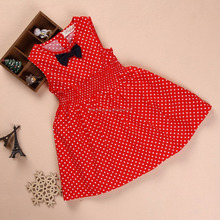 Summer fancy red latest party wear dresses for girls