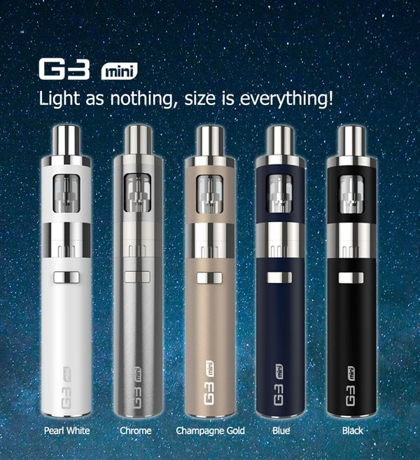 2016 New Sell e cigarette LSS kit vapor G3 Mini e-cigarette device