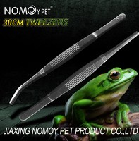 Nomo 2016 wholesale high quality stainless steel tweezers 2 types NZ-03