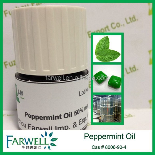 Farwell 100% Natural Peppermint Oil with total menthol content 50% min