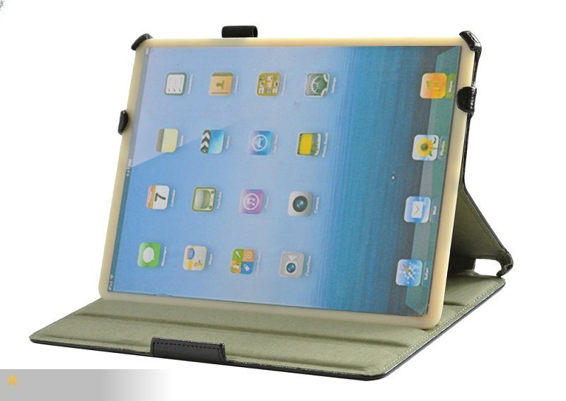 Protection Skin Case For IPAD 5 Fashion PU Leather Case Cover For Tablet 9.7 +Stylus+Screen Protector