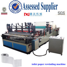 Automatic toilet paper machine embossed rewinder hand roll towel equipment