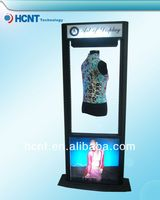 New Invention ! magnetic levitation led display rack for underwear, thin padded bra