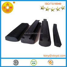 customized rubber foam seal strip for car doors and windows extrusion sliding window