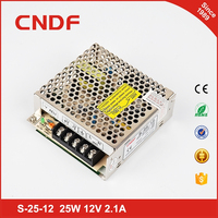 CNDF LED electronic display 25w 24v 1.1A single output power supply