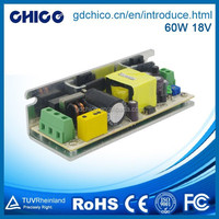switching power supply 60W 18V LED driver