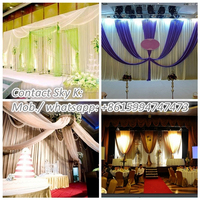 2015 traditional chinese rental stage for wedding backdrop panel