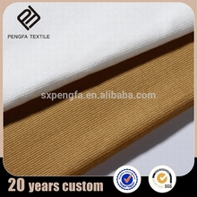 Shaoxing textile new style garment woven 95 cotton 5 spandex fabric blended fabric