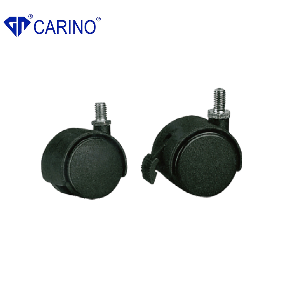 Superior quality removable socket type nylon caster wheels
